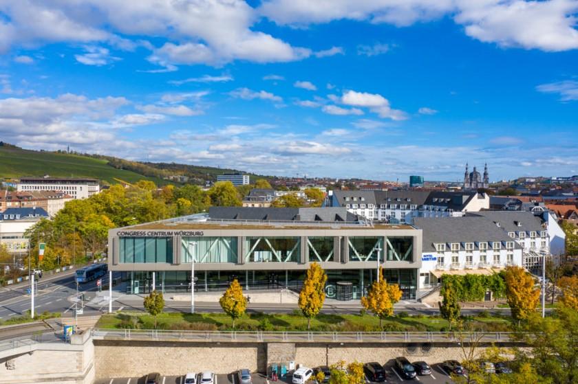 Congress Centrum Würzburg Luftaufnahmen