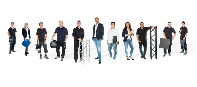 Teambild, Gruppenbild und Unternehmensbild