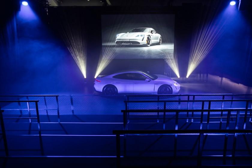 Vorstellung Porsche Taycan Produktvorstellung Vermarktung